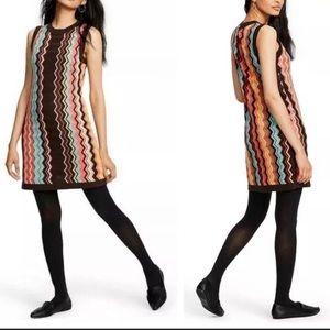 NWT Missoni for Target Colore Chevron Dress Size M